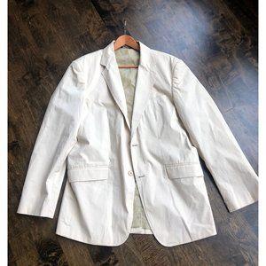 Kenneth Cole Light Tan Blazer Jacket 44